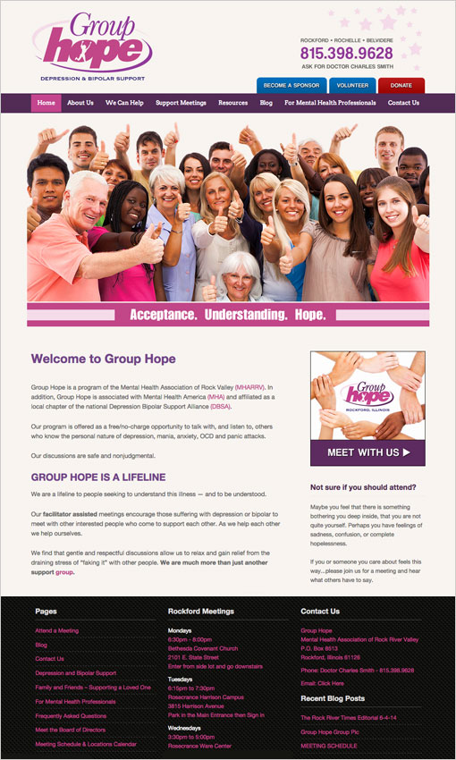 Group Hope Website